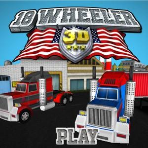 18 Wheeler 3D game