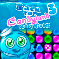 Back to Candyland Episode 3: Sweet River game