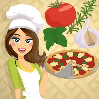 Pizza Margherita – Cooking with Emma game