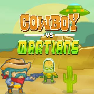 Cowboy VS Martians game