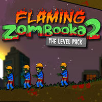 flaming zombooka 2 level pack free online game