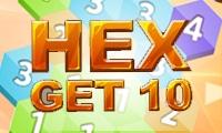Hex Get 10 game