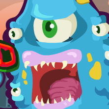 Monsteroid game