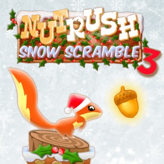 Nut Rush 3 – Snow Scramble game