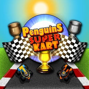 Penguins Super Kart game