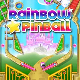Rainbow Star Pinball game
