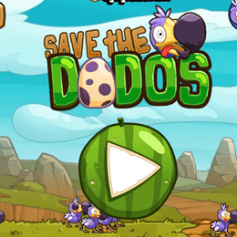 Save The Dodos game