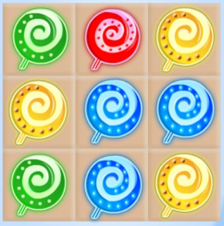 Sweet Candies: the Second Story game