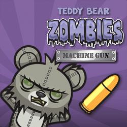 Teddy Bear Zombies Machine Gun game
