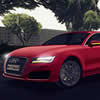 Audi A7 Puzzle game