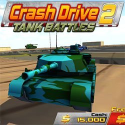 Crash Drive 2: Tank Battles game