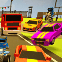 3D Arena Racing game