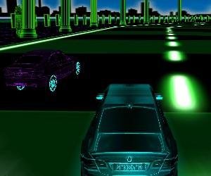 3D Neon Racing game