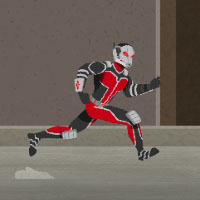 Ant-Man: Training Combat game