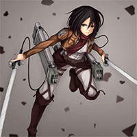 Attack on Titan Running game