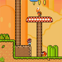 Awesome Mario World game