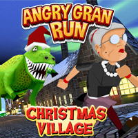 Angry Gran Run: Xmas game