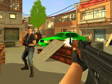 Armed Forces vs gangs game