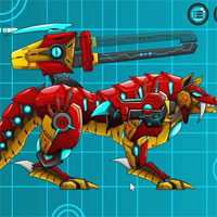 Battle Robot Wolf Age game