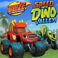 Blaze and the Monster Machines: Speed into Dino Valley game