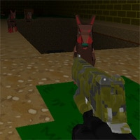 Blocky Combat Swat: Killing Zombie game