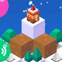 Christmas Hop game
