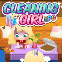 Cleaning Girl RPG game