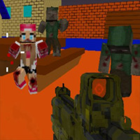 Combat Pixel SWAT & Zombies game