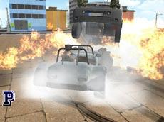 Crunched Metal: Drifting Wars game