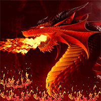 Dragonfire: A Game of Pixels game