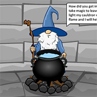 Escape Wizard Tower game