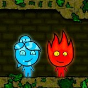 Fireboy & Watergirl: Forest Temple game
