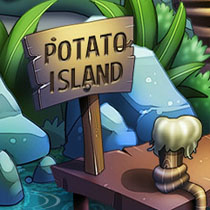 Greetings from Potato Island game