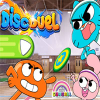 Gumball Disc Duel game