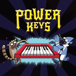 Regular Show – Power Keys game