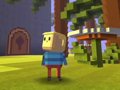 Kogama: Mario Land Adventure game