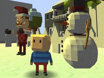 Kogama: Hello Neighbor Christmas Edition! game