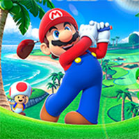 Mario Golf Advance Tour game