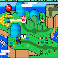 Mario New Easter World game