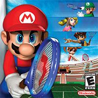 Mario Power Tennis game