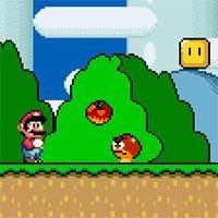 Mario Return to Dinosaur Land game