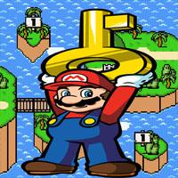 Mario's Keytastrophe game