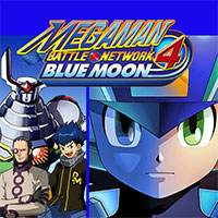 Mega Man Battle Network 4 Blue Moon game
