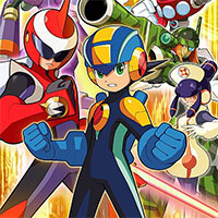 Mega Man Battle Network 5 game