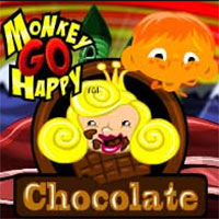 Monkey GO Happy Chocolate game