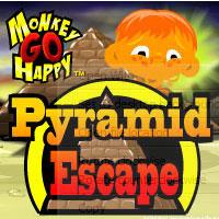 Monkey Go Happy Pyramid Escape game