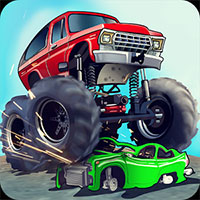Monster Truck Flip Jumps game