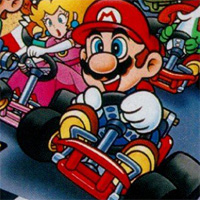More Super Mario Kart game