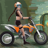 Moto Tomb Racer game