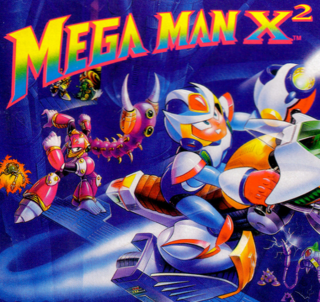 Mega Man X2 game